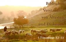 Biblisches Verständnis von Ältesten und Diakonen