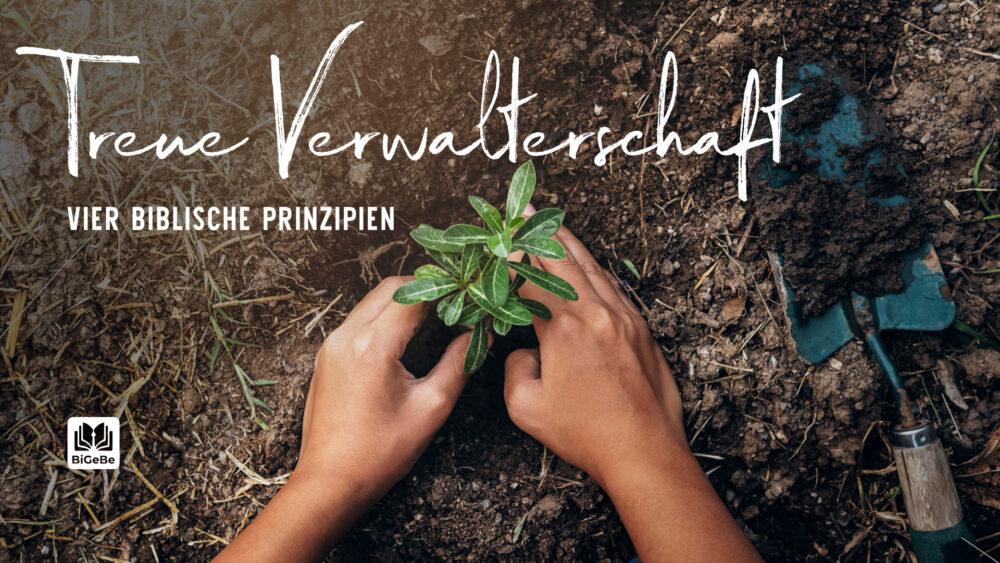 Treue Verwalterschaft - vier biblische Prinzipien