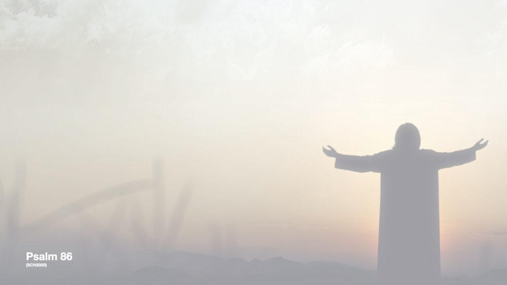 Psalm 86 - Ein Gebet zum Jahreswechsel Image